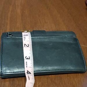 None Bags - Ladies black leather wallet
